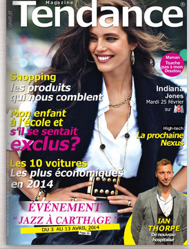 Interview du Magazine Tendances