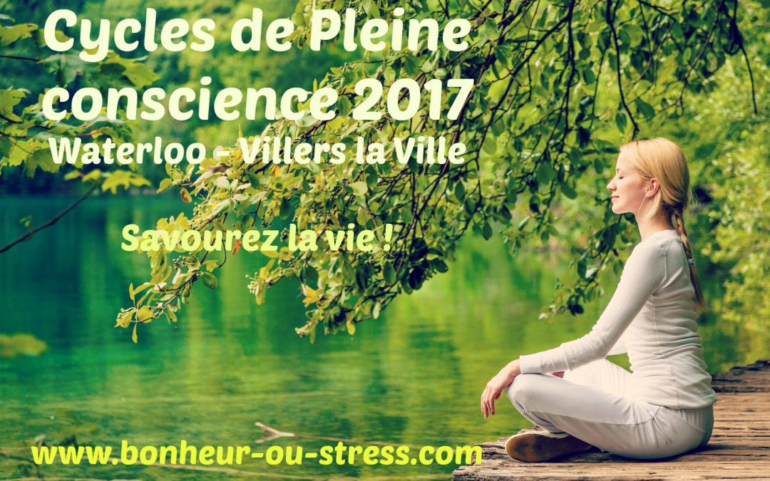 Pleine Conscience cycles 2017