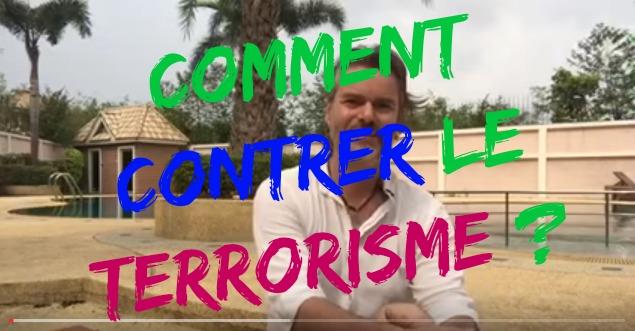 Comment contrer le terrorisme ? (.. et ne pas se polluer)