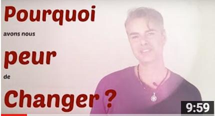 Pourquoi avons-nous peur de changer ?
