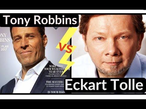 Anthony Robbins ou Eckart Tolle ? ( Dev. Perso ou Spiritualité?)