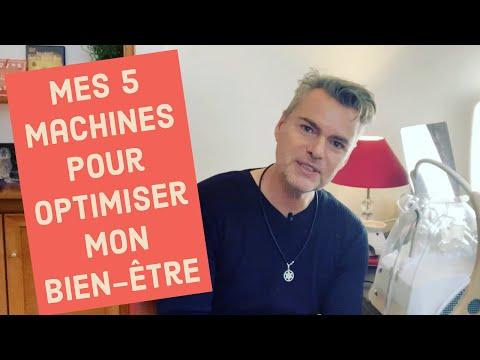 Mes 5 machines pour optimiser mon bien-être !