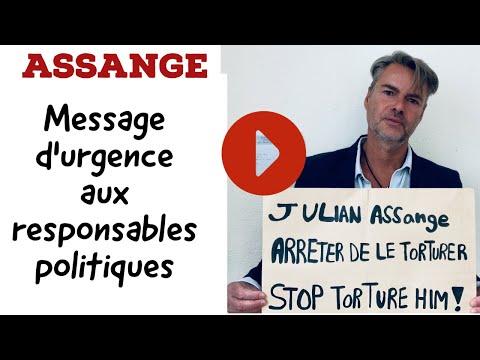 Assange : message à tous les responsables politiques
