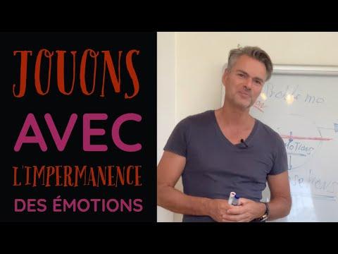 Jouons avec l'Impermanence des émotions !