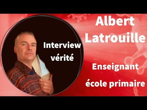 L'interview vérité d'Albert latrouille enseignant école primaire