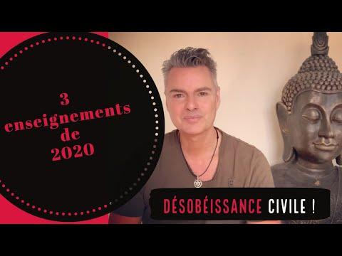 3 enseignements de 2020 + urgence de la désobéissance civile