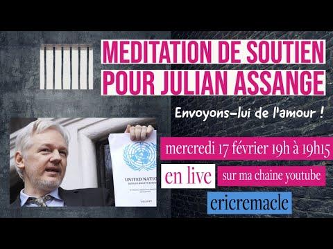 Méditation de soutien pour Julian Assange