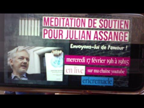 Méditation de soutien à Julian Assange